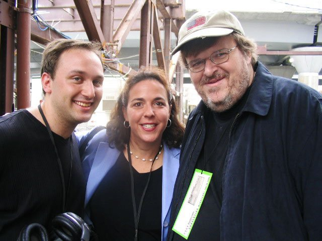 CRMG Photo with Michael Moore