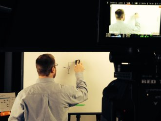 Whiteboard Animation Studio Shoot